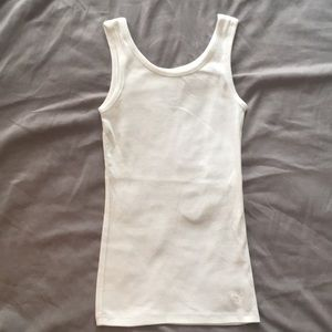 Justice 🌟 White tank top 🌟 NWOT